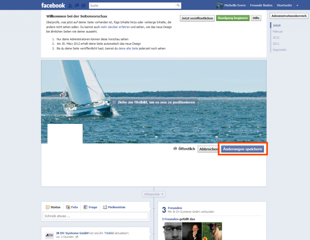Facebook umstyling